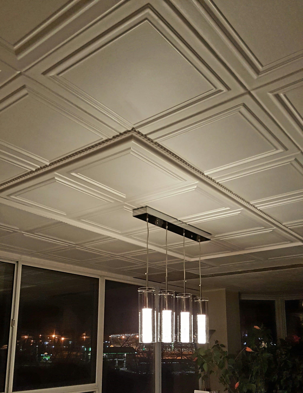Rm24 Polystyrene Ceiling Tile Talissa