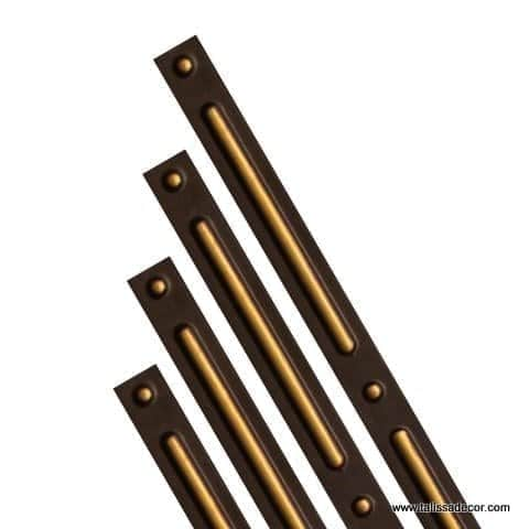 G2 - Grid Cover Strips - Antique Gold