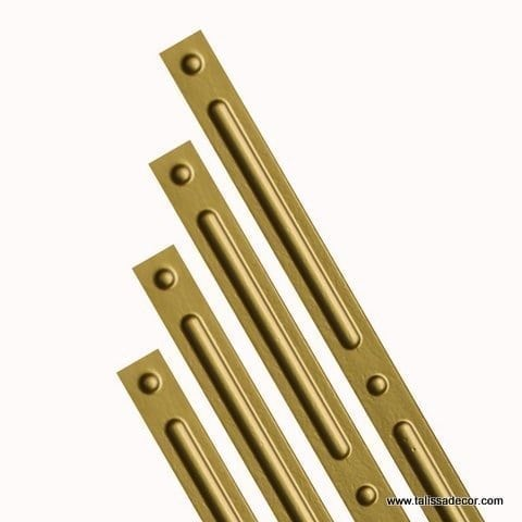 G2 - Grid Cover Strips - Brass
