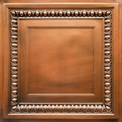 TD06 Aged Copper Faux Tin Ceiling Tile - Talissa Signature Collection