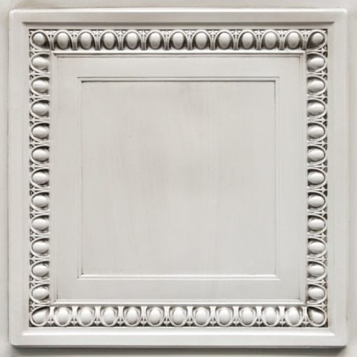 TD06 Antique White Faux Tin Ceiling Tile - Talissa Signature Collection