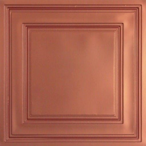 232 Copper Faux Tin Ceiling Tile