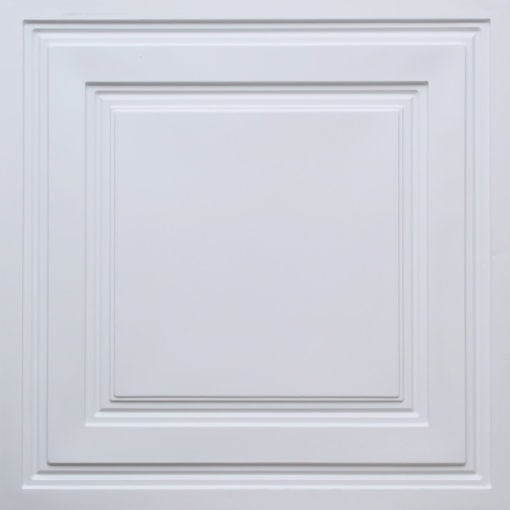 232 White Pearl Faux Tin Ceiling Tile