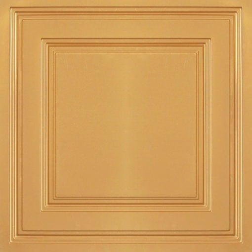 232 Gold Faux Tin Ceiling Tile