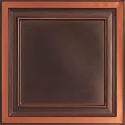 233 Antique Copper Faux Tin Ceiling Tile