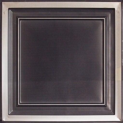 233 Antique Silver Faux Tin Ceiling Tile