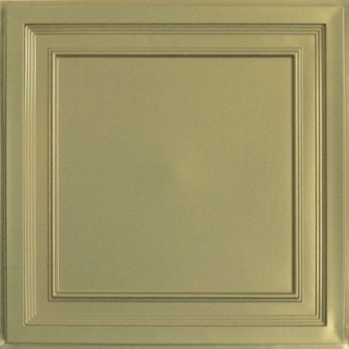 233 Brass Faux Tin Ceiling Tile