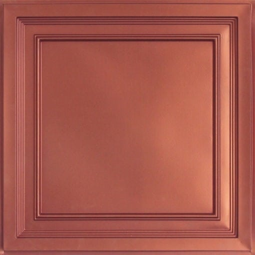 233 Copper Faux Tin Ceiling Tile