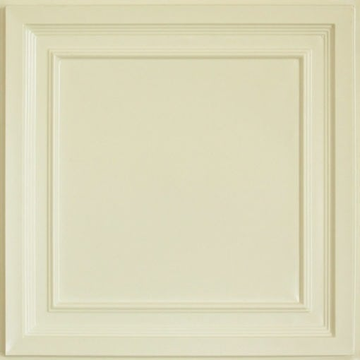 233 Cream Pearl Faux Tin Ceiling Tile