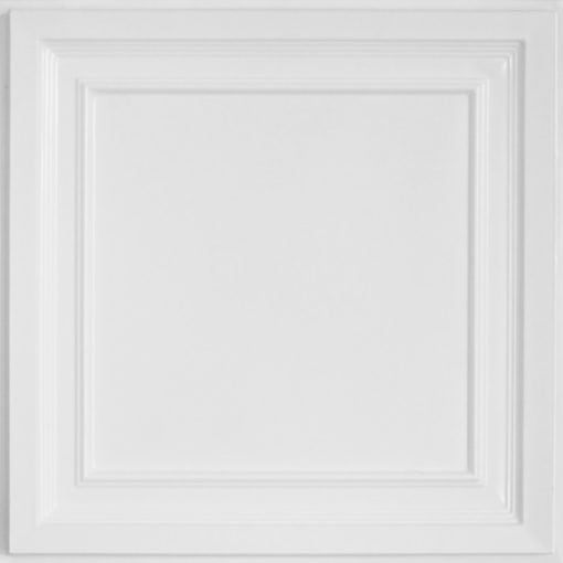 233 White Pearl Faux Tin Ceiling Tile