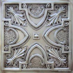TD11  Faux Tin Ceiling Tile -  Antique White