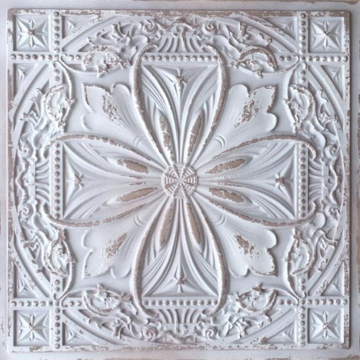 TD10 Aged Taupe Faux Tin Ceiling Tile - Talissa Signature Collection