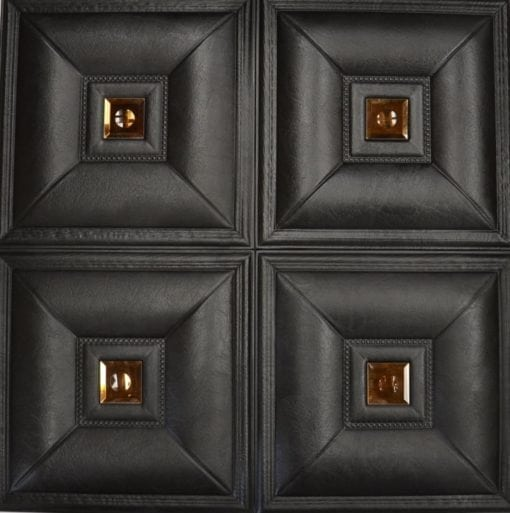 LT-11 Faux Leather Wall Panel