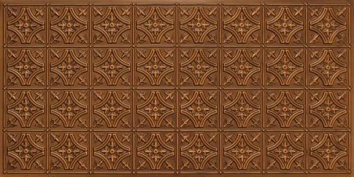 8150 Antique Gold Faux Tin Ceiling Tile