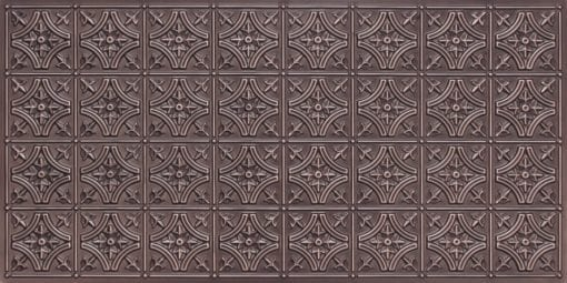 8150 Antique Silver Faux Tin Ceiling Tile