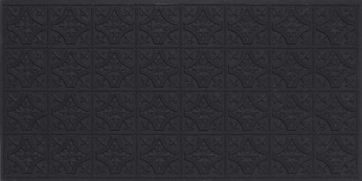 8150 Black Matte Faux Tin Ceiling Tile