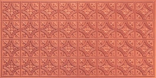 8150 Copper Faux Tin Ceiling Tile