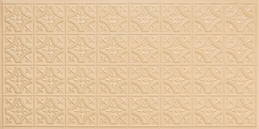 8150 Cream Pearl Faux Tin Ceiling Tile