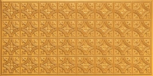 8150 Gold Faux Tin Ceiling Tile