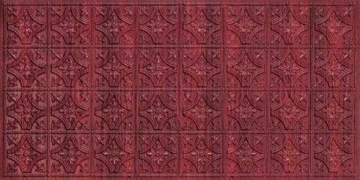 8150 Rosewood Faux Tin Ceiling Tile