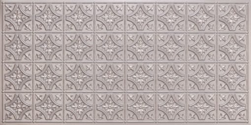 8150 Silver Faux Tin Ceiling Tile