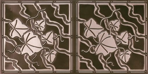 8202 Antique Silver Faux Tin Ceiling Tile
