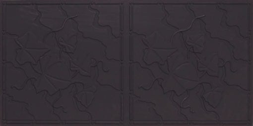 8202 Black Matte Faux Tin Ceiling Tile