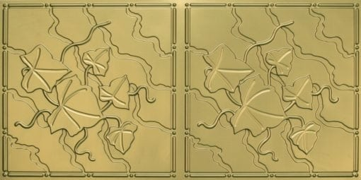 8202 Brass Faux Tin Ceiling Tile