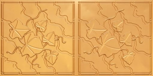 8202 Gold Faux Tin Ceiling Tile