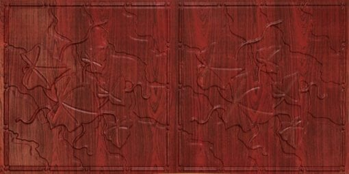 8202 Rosewood Faux Tin Ceiling Tile