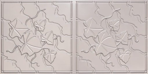 8202 Silver Faux Tin Ceiling Tile