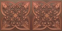 8212 Antique Copper Faux Tin Ceiling Tiles