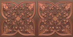 8212 Antique Copper Faux Tin Ceiling Tiles