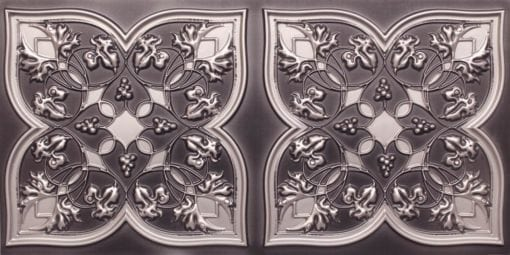 8212 Antique Silver Faux Tin Ceiling Tiles