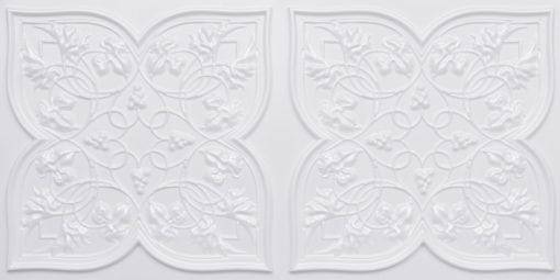 8212 White Pearl Faux Tin Ceiling Tiles