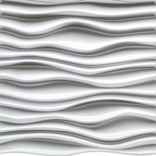 3D Thermoplastic wall panel - Dunes