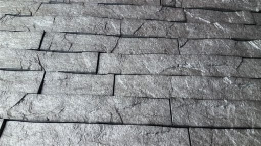 3D Thermoplastic wall panel - Ledgestone - Portland Cement