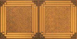 8209  Faux Tin Ceiling Tiles - Antique Gold