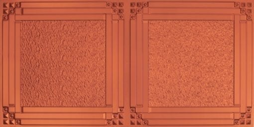 8209  Faux Tin Ceiling Tiles - Copper