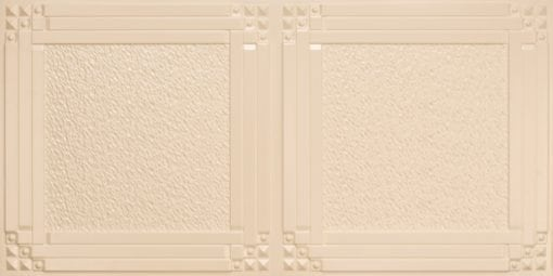 8209  Faux Tin Ceiling Tiles - Cream Pearl