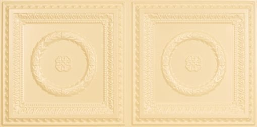 8210 Faux Tin Ceiling Tile - Cream Pearl