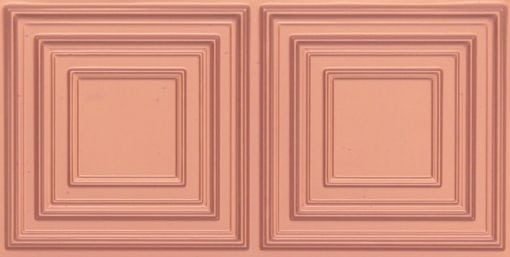 8222 Faux Tin Ceiling Tile - Copper
