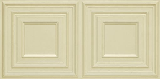 8222 Faux Tin Ceiling Tile - Cream Pearl