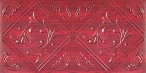 8253 Faux Tin Ceiling Tile - Rosewood