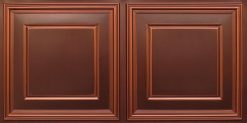8224 Faux Tin Ceiling Tile - Antique Copper