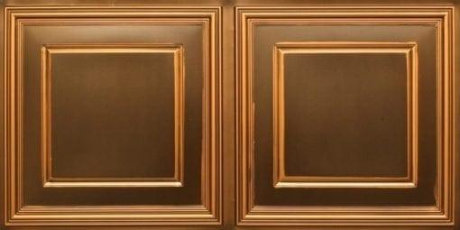 8224 Faux Tin Ceiling Tile - Antique Gold