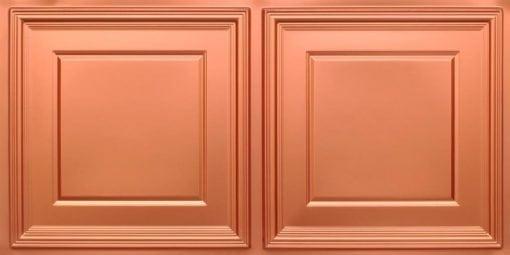 8224 Faux Tin Ceiling Tile - Copper