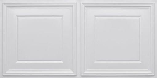 8224 Faux Tin Ceiling Tile - White Pearl