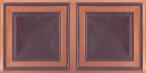 8232 Faux Tin Ceiling Tile - Antique Copper