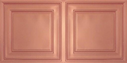 8232 Faux Tin Ceiling Tile - Copper